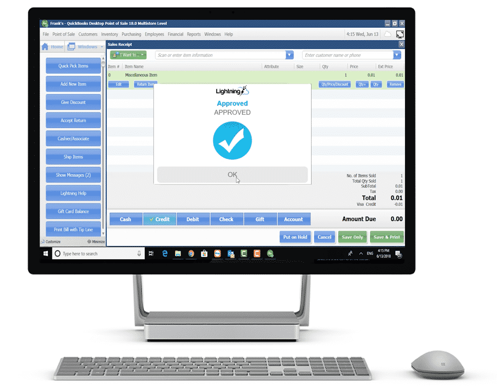 quickbooks-pos-lightning-app-successfull-payment-screenshot