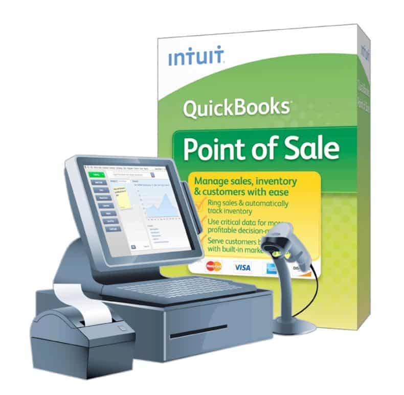 QuickBooks Point of Sale Basic V18 | Retail POS Software