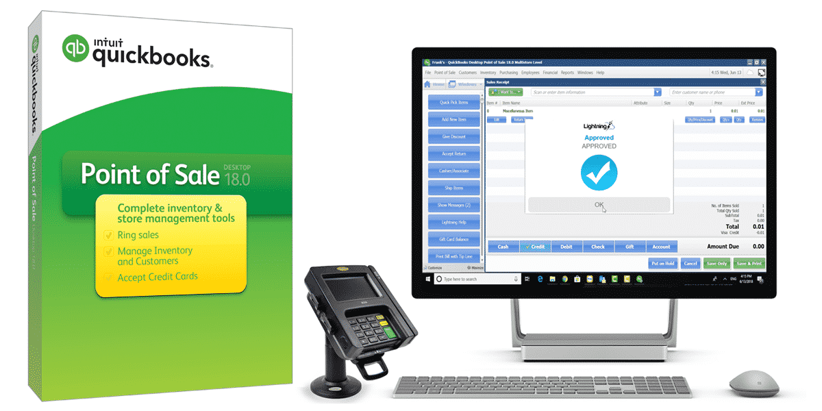 QuickBooks Point of Sale V18 Basic-Pro-Multi-Store | TouchSuite