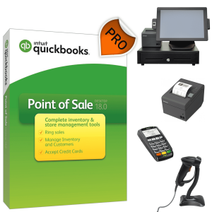 QuickBooks POS V18 Pro Hardware Bundle