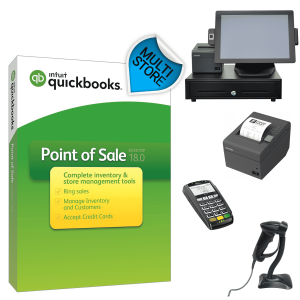 QuickBooks POS V18 Multi-Store Hardware Bundle