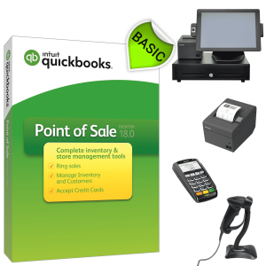 QuickBooks POS V18 Basic Hardware Bundle