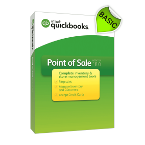 QuickBooks POS V18 Basic Software