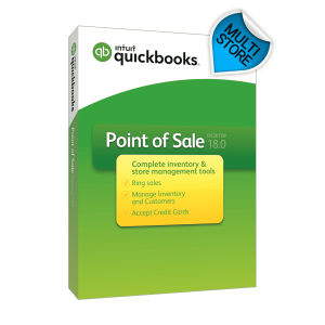 QuickBooks POS V18 Multi-Store Software