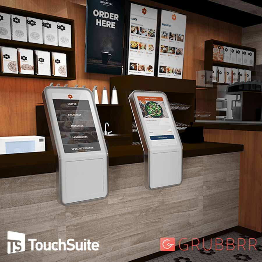 TouchSuite Invests In Grubbrr, A Disruptive Self Ordering Kiosk And AI POS Technology Platform