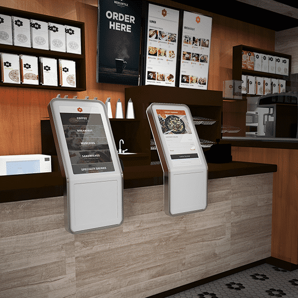 Grubbrr TouchSuite Self Ordering Kiosk Hospitality Industry